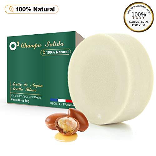 O³ Lola Nature Champu Solido 100% Natural - Champú