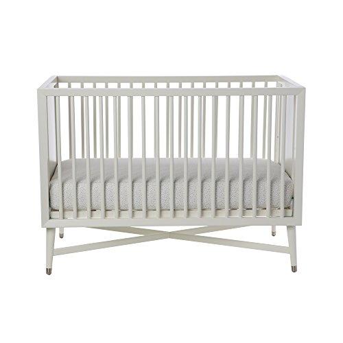Cheapest Price! Free Mattress with DwellStudio Mid-Century Crib in French White