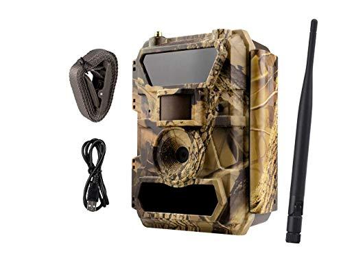 ICUhunt icuserver 3G Wildkamera (3G GPRS GSM), 3G Überwachungskamera, FOTOAPP, Jagdkamera, 0,4s Auslösezeit, Fotofalle, SIM-Karte inkl, europaweiter Empfang - Modell 2019