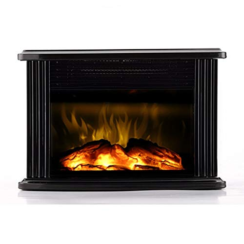 WARMTEC 750W/1500W 14'' Mini Electric Fireplace Heater Tabletop Portable Room Space Heater...