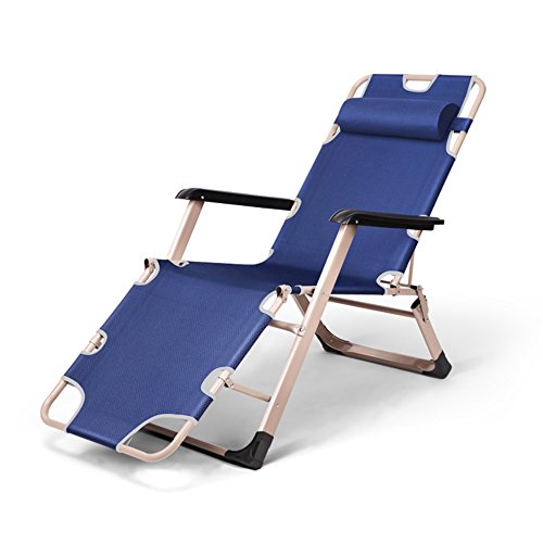 JCOCO Lazy Chair-Foldaway/Cama individual/Nat Sleeping Bed/Office Lounge Chair/Cama/Nat Sleeping Chair/Simple Accompanying Camp Bed (color : Q)
