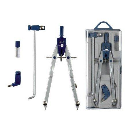 Liderpapel Compas Microtérmico bk-304 -Con Adaptador Y Alargadera