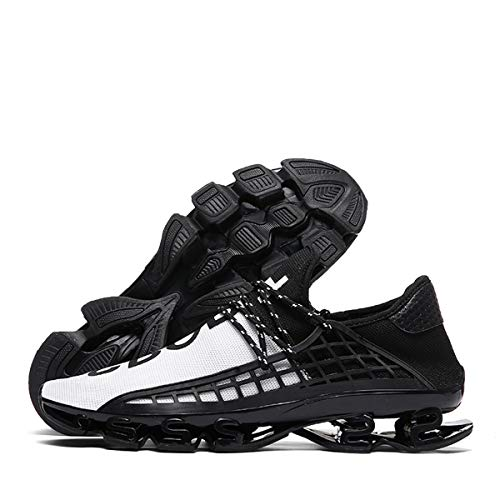 Ahico Mens Womens Running Sneakers Walking Shoes Mesh Breathable Lightweight Tennis Comfortable Sport Casual Athletic Workout White