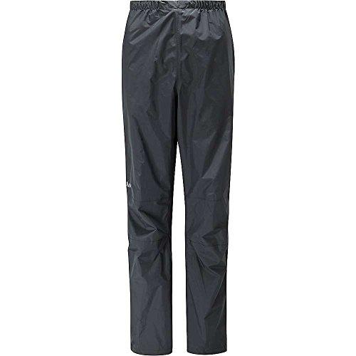 RAB WOMENS DOWNPOUR PANTS BLACK (UK SIZE 10)
