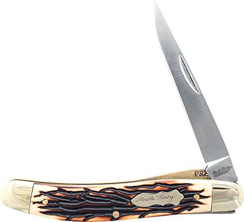 Schrade Sch197uh Couteau de Poche Unisexe – Adulte, Argent – Taille Unique