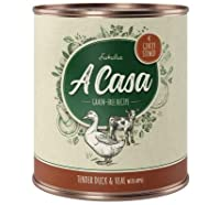 Juicy Rosemary Turkey with turkey, salmon, potatoes, beetroot, peaches, blackcurrants, aronia berries, herbs and walnut oil Great-tasting complete wet dog food, carefully prepared, slow, gentle cooking Grain-free recipe Made with choice ingredients: ...