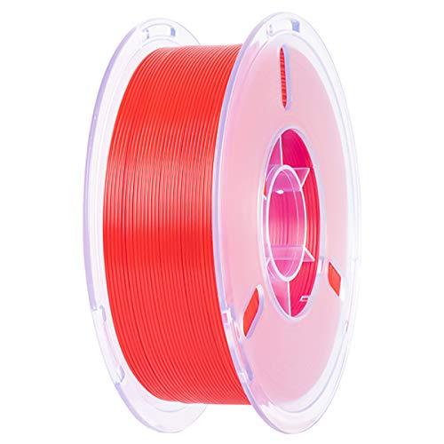 VOMI PLA+ Filament 1,75mm Rot, PLA Plus 3D Drucker Filament 1KG Spule (2,2 LBS) Filament-3D-Druck für 3D Drucker oder 3D Stift, 1,75 +/- 0,02mm, Verwicklung frei/Vakuumverpackung