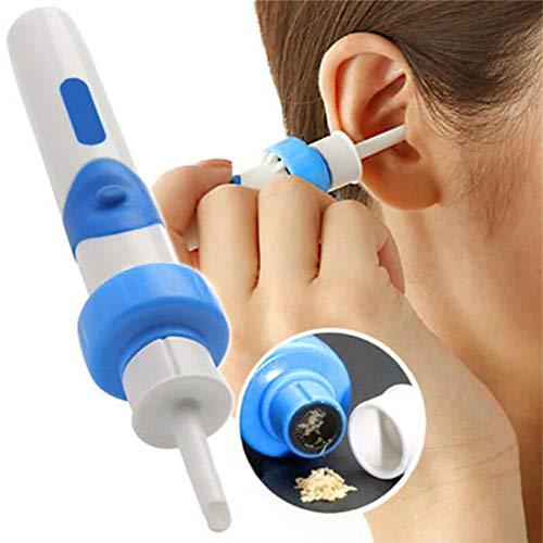 ZJN.DD Elektrisches Ohrenschmalz-Reinigungsset, Ohrenschmalzreiniger mit Ohrstöpsel für Babys Kinder Kinder Erwachsene Ältere Menschen und Haustiere