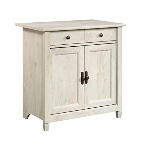 Sauder Edge Water Utility Stand - Chalked Chestnut finish