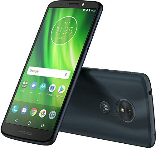 Motorola Moto G6 Play 16GB - 5.7  4G LTE Unlocked Smartphone, US Version, XT1922-9 (Deep Indigo) (Renewed)