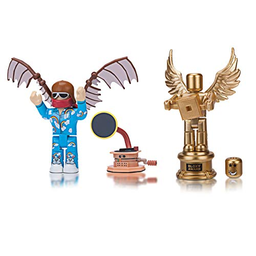 Roblox Celebrity Figure 2-Pack, The Clouds: Flyer and The Golden Bloxy Award
