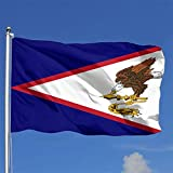 XXX American Samoa Flag USA 4x6 Ft Outdoor Polyester Flag, Vivid Color and UV Fade Resistant