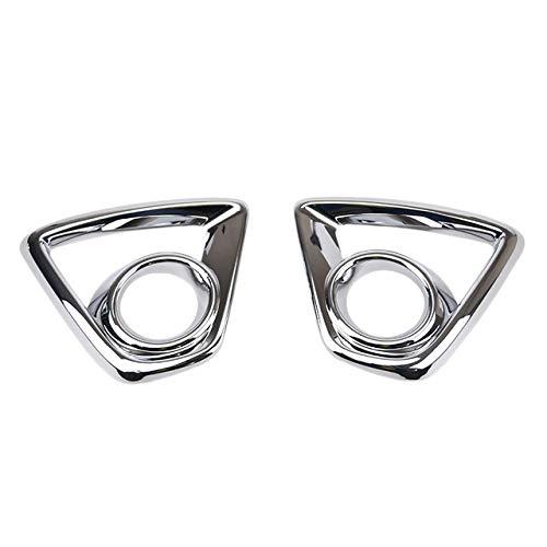 XFC-WU, Chrome Frame Niebla Delantera de la lámpara de Ajuste de la Cubierta Auto de la decoración de la Cubierta en Forma for el Mazda CX-5 2012-2014 (Color : Plata)