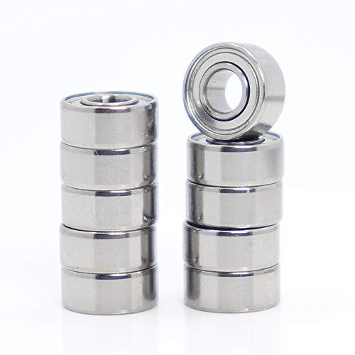 683ZZ Rodamientos ABEC-7 3 x 7 x 3 mm, miniatura 683 ZZ Rodamientos 618/3ZZ EMQ Z3V3, 10 unidades