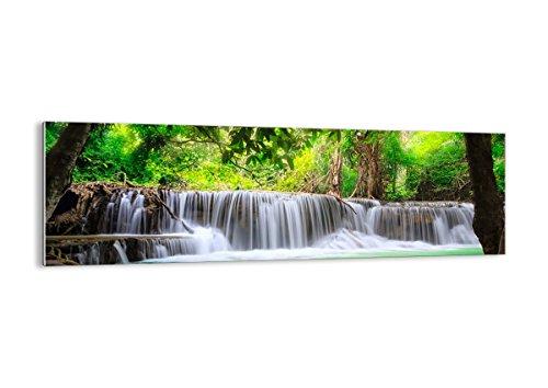 ARTTOR Cuadro sobre Vidrio - Impresiones sobre Vidrio - Agua Parque Naturaleza Paisaje - 160x50cm - Decoracion de Pared - Impresión en Vidrio - Cuadro en Vidrio - Cuadro de Cristal - GAB160x50-2502