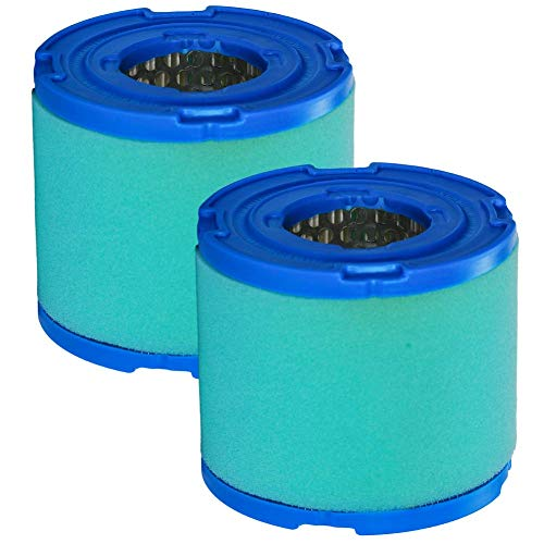 JJDD Runder Luftfilter Kartusche Reiniger Vorfilter für Briggs & Stratton 7-18 HP Motor Ersatz 393957 393957S 390930 4106 271794 271794S 270782 (2 Stück)