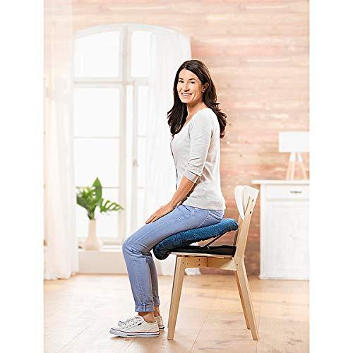 Aufsteh- und Hinsetzhilfe Katapultsitz | Widerstand individuell einstellbar | bequemes Sitzkissen | mobil | bis 100 kg