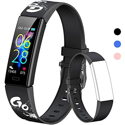 K-berho Kids Fitness Tracker, Fitness Watch Activity Tracker with...