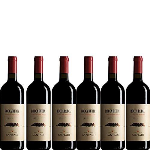 6 bottiglie per 0,75 l -Rocca Rubia - Carignano del Sulcis DOC riserva