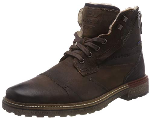 bugatti Herren 311382523200 Klassische Kurzschaft Stiefel Stiefel, Braun, 44 EU