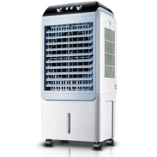 WSJTT Luftkühler, persönlicher Klimaanlagenlüfter, persönlicher Raumluftkühler Kleiner Desktop-Lüfter 40 l Wassertank 3 Windgeschwindigkeitseinstellung und Schwenkfunktion, mobile Industrieklimaanlage