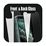 Protector de pantalla frontal para iPhone X XS 11 Pro Max XR 6s 7 8 Plus 5s se 2020 Tempered Glass on for iPhone XS 11 Pro Max XR Glass for 6 Plus 6s Plus Only Back Glass