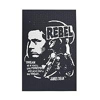 ジェームズディーン反乱軍 James Dean Rebel 1000個の 木製ピース ジグソーパズル ワンピース (50x75cm) ジグソーピース 立体パズル 木製ジグソーパズル 大人 ピースジグソーパズル