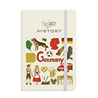 ドイツの風景の動物の国旗 歴史ノートクラシックジャーナル日記A 5