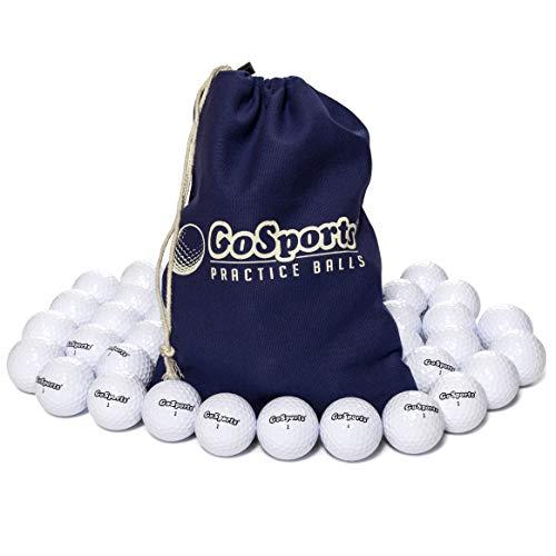 GoSports Allzweck-Golfbälle zum Spielen oder Üben   32 Stück mit Tragetasche