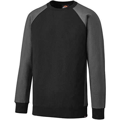 Dickies Hoodie / Pullover 2 Tone Sweatshirt Black/Grey-L