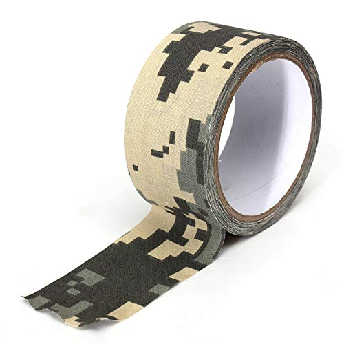 ExcLent 10 Mt Camouflage Wrap Tape Klebeband Kanal Wasserdicht Mutifunctional Fabric Camping Stealth Tape - ACU