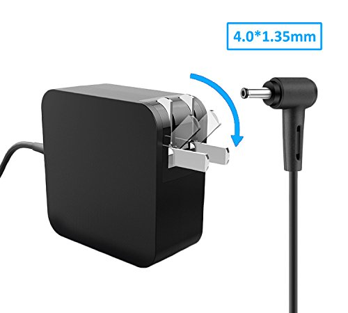 Laptop Charger 45W 19V 2.37A Slim AC Adapter for Asus Q302 Q302L Q302LA Q302U Q302UA Q303 Q303U...