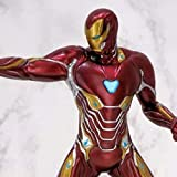 JAPAN OFFICIAL Figura de Iron Man Mark 50 de Los Vengadores Infinity War de Marvel Cinema LPM Premium Limited