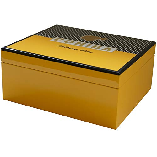 Classic Collection - Cigar Humidors (Yellow & Black)