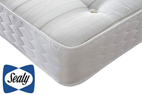 Simply Sealy 1000 Pocket Ortho Mattress, 1000 Pocket Springs, Tailored Support, Firm Feel, Double