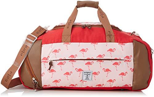 Friedrich 23 Weekender, F23, Flamingo, Polyester, beige/Koralle Reisetasche, 56 cm, 44.0 Liter, Beige/Koralle