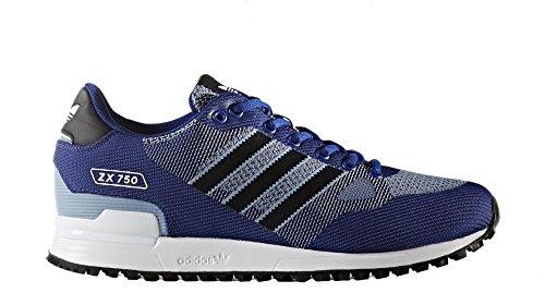 adidas Zx 750 Wv Scarpe da fitness Uomo, azzurro (Tinmis /     Negbas /     Ftwbla), 44 EU