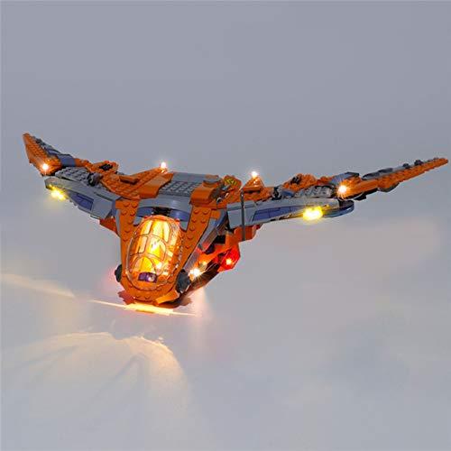 WEEGO LED Beleuchtungsset für LEGO Marvel Super Heroes Thanos Ultimate Battle USB Lampen Licht Kit Compatibel...