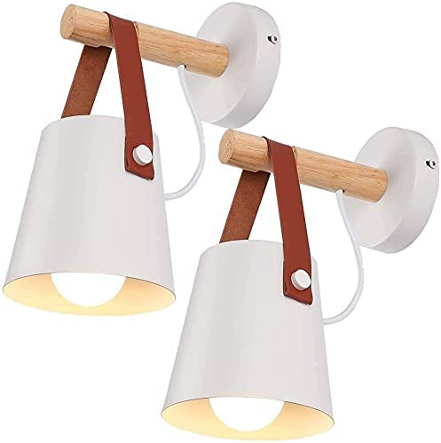 Industrial Style Ranking TOP19 Wall Light 2 Modern pcs Woode Max 53% OFF Sconce