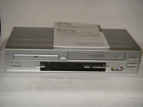 Find Bargain HITACHI DVD/VCR Combo, Model # DV-PF73U, Perfect.