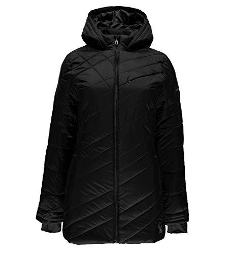 Spyder Women's Siren Long Jacket, Black, Medium
