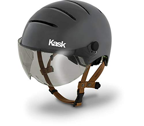 Kask Lifestyle Helm Inkl. Visier mattanthrazit Kopfumfang 51-58cm 2020 Fahrradhelm