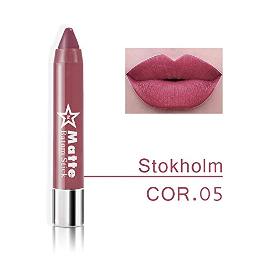 道徳の飾り羽重なるMiss Rose Brand lips Matte Moisturizing Lipstick Makeup Lipsticks Waterproof matte Lip gloss Mate Lipsticks Make up