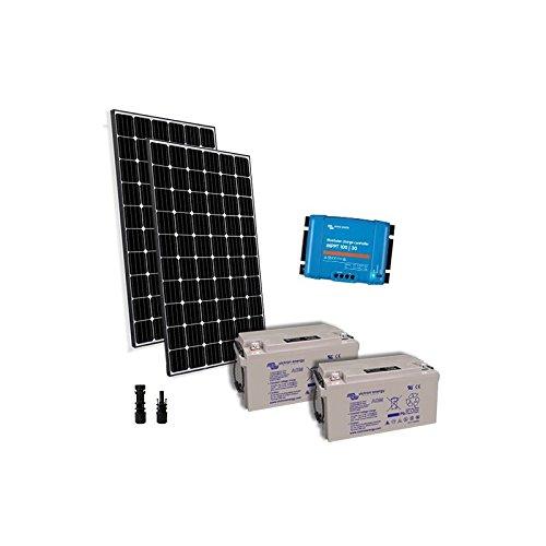 PuntoEnergia Italia - Solar Kit Pro2 600W 24V Placa Solar Regulador de...