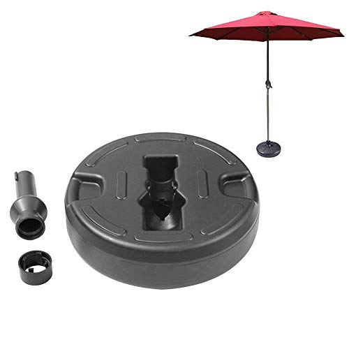 LYYJIAJU Concrete Parasol Base Portable Durable Outdoor Parasol Garden Umbrella Base Round Sun Garden Patio Stand Holder Patio Beach Shelter Umbrella