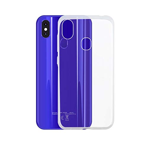 Easbuy Handy Hülle Soft TPU Silikon Hülle Etui Tasche für Leagoo S9 Smartphone Bumper Cover Handytasche Handyhülle Schutzhülle (Transparent)