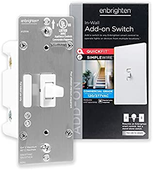 GE Enbrighten Add-On Switch with QuickFit and SimpleWire