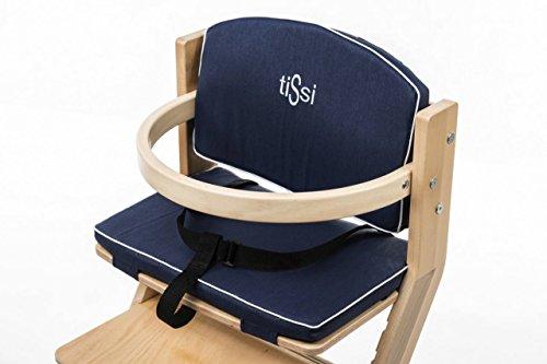 Sitzkissen für tiSsi® Hochstuhl 5 Farben lieferbar, Farbe:Marine Blau