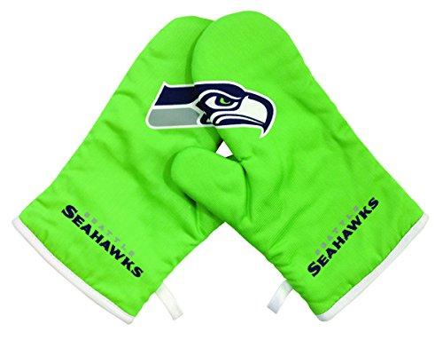 Pro Specialties Group NFL Ofenhandschuhe, Handschuhe, Grillen, Grillzubehör Seattle Seahawks