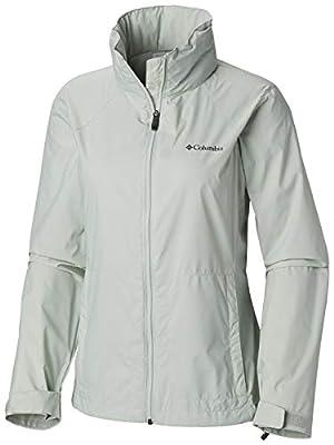 Columbia Women's Plus Size Switchback III Adjustable Waterproof Rain Jacket, Cool Green, 2X from Columbia